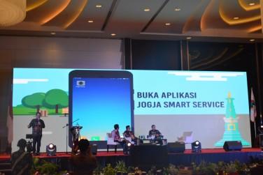 Jogja Smart Service di Forum Rapat Kerja Komisariat Wilayah III Apeksi