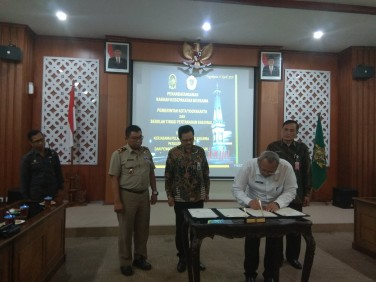 Kesepakatan Bersama Pemerintah Kota Yogyakarta dengan Sekolah Tinggi Pertanahan Nasional