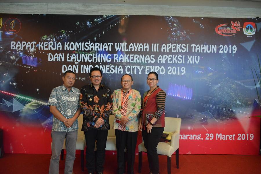 Wakil Walikota Pimpin Delegasi Kota Yogyakarta dalam Forum Apeksi