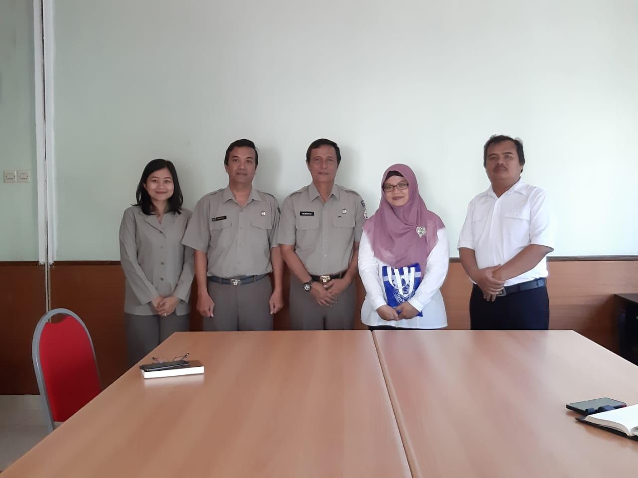 Kunjungan dari Sekolah Tinggi Teknologi Adisutjipto dalam rangka penjajagan kerjasama
